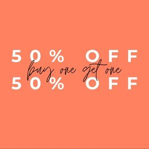 ✨BUY ONE GET ONE 50% OFF✨